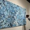 Blue Leaves oil on canvas Jessica Siemens 2009