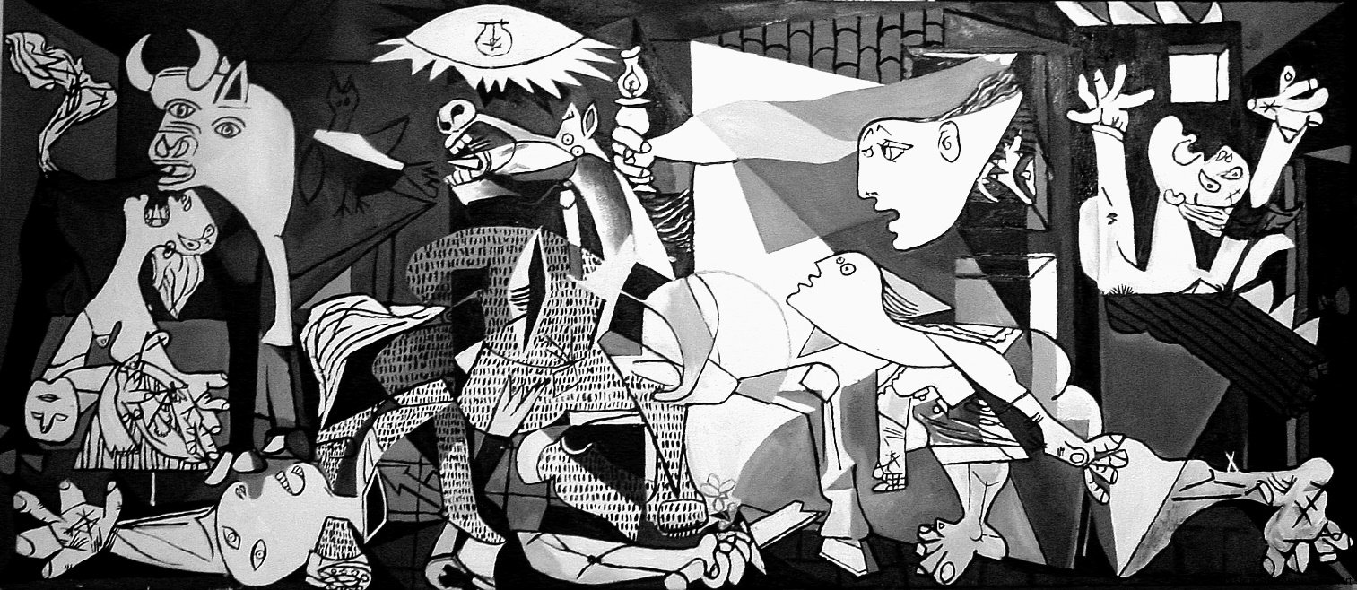 My name is asher lev chaim potok learning for Mural guernica