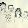 mckern-grandchildren-pencil-on-paper-11x14-jessica-siemens-2012