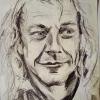 Portrait of Mark pencil on paper Jessica Siemens 2009