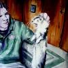 Bobby the Ferret Watercolor, Jessica Siemens 2009.JPG