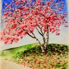 cherry-blossom-prospect-park-watercolor-18x24inches-jessica-siemens-2013s