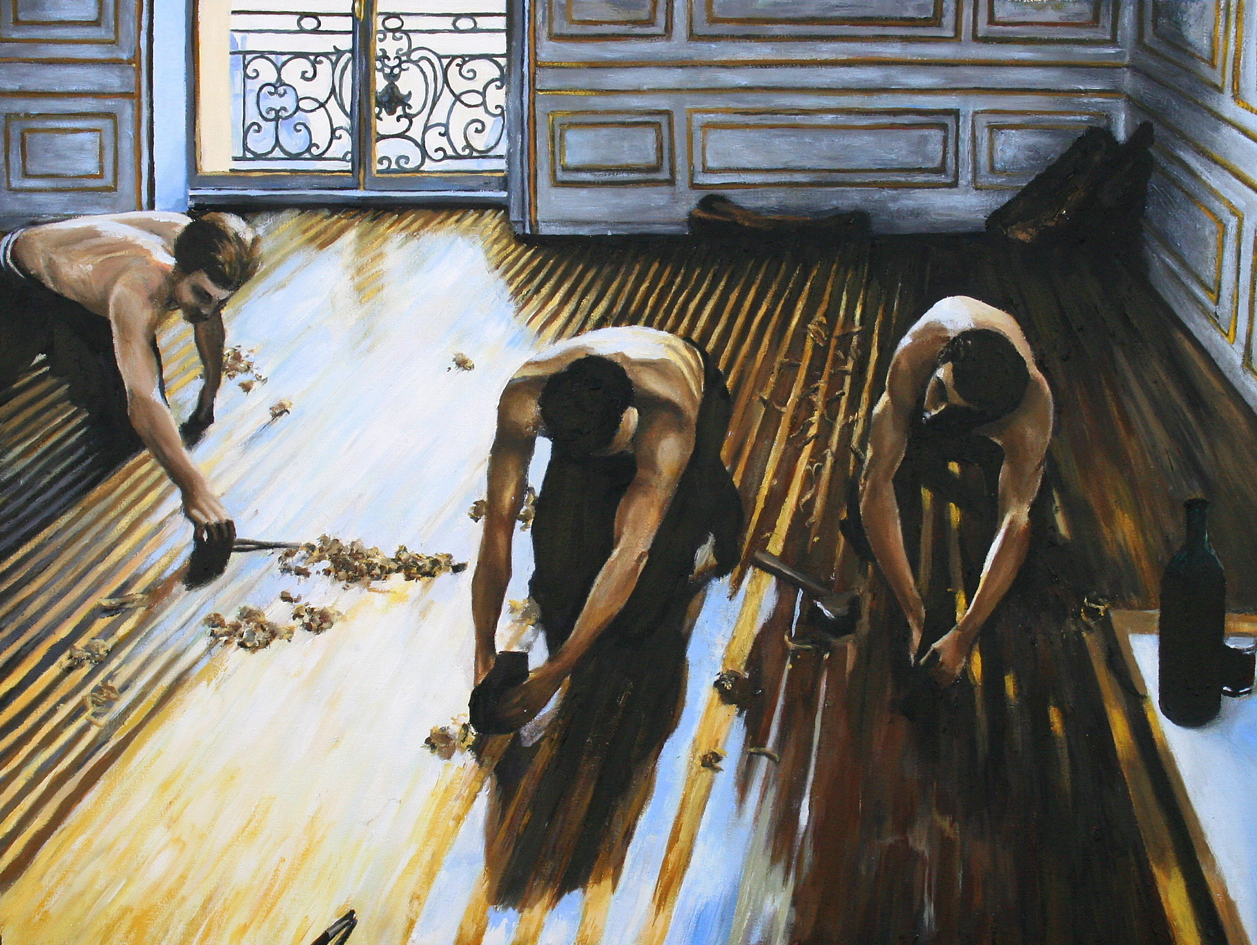 Finished Commission: Reproduction of Gustave Caillebotte's ...