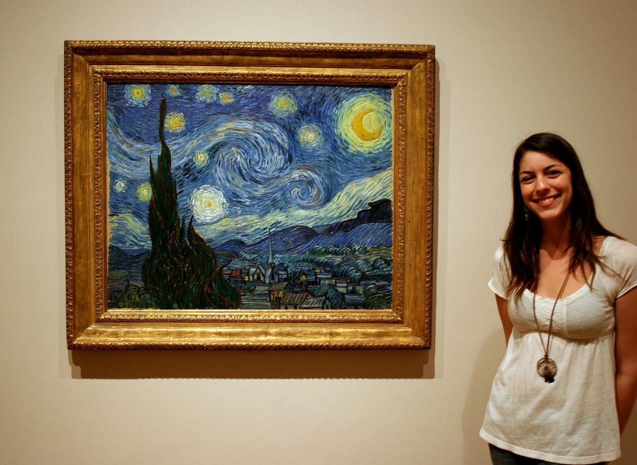 Siemens van gogh starry starry night van gogh original painting