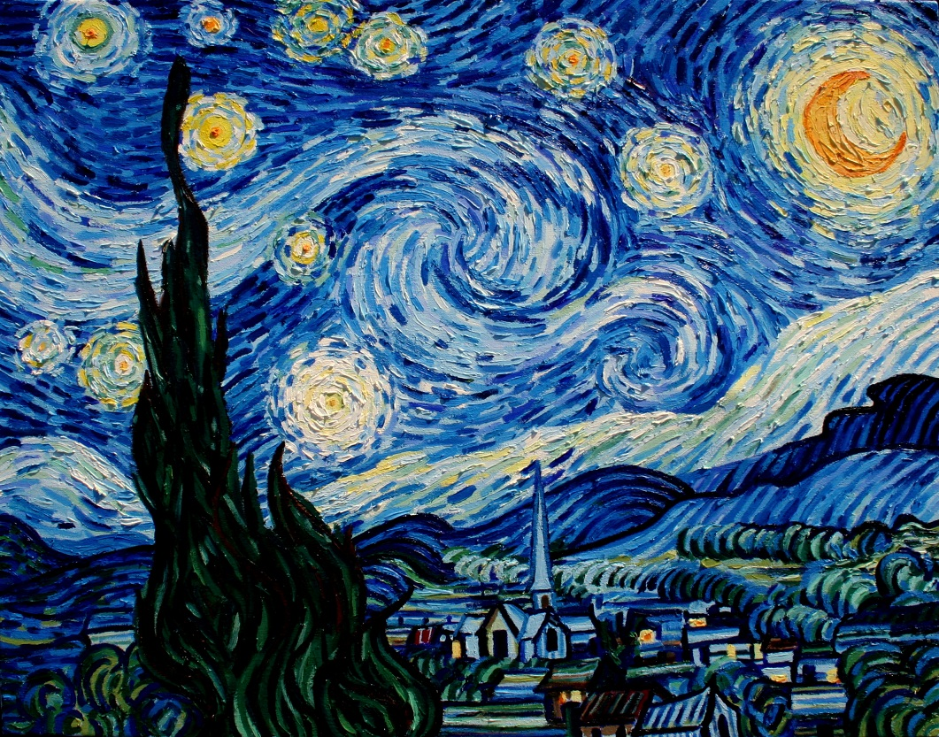 van gough starry night With its seductive swirls, intoxicating composition, and enchanting color palette, vincent van gogh's the starry night is one of the world's most beloved and well-known works of art in its.