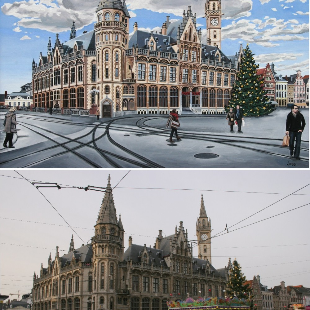 The Old Post Office in Ghent, Belgium